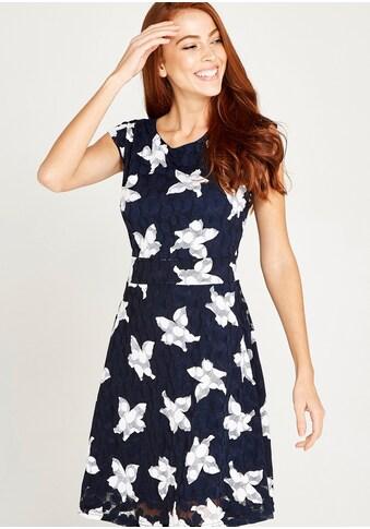 Apricot Meshkleid »Graphic Flower Tie Back Dress«, mit Blumen kaufen