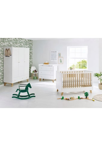 Pinolino® Babyzimmer-Komplettset »Pan«, (Set, 3 St.), breit groß; mit Kinderbett,... kaufen