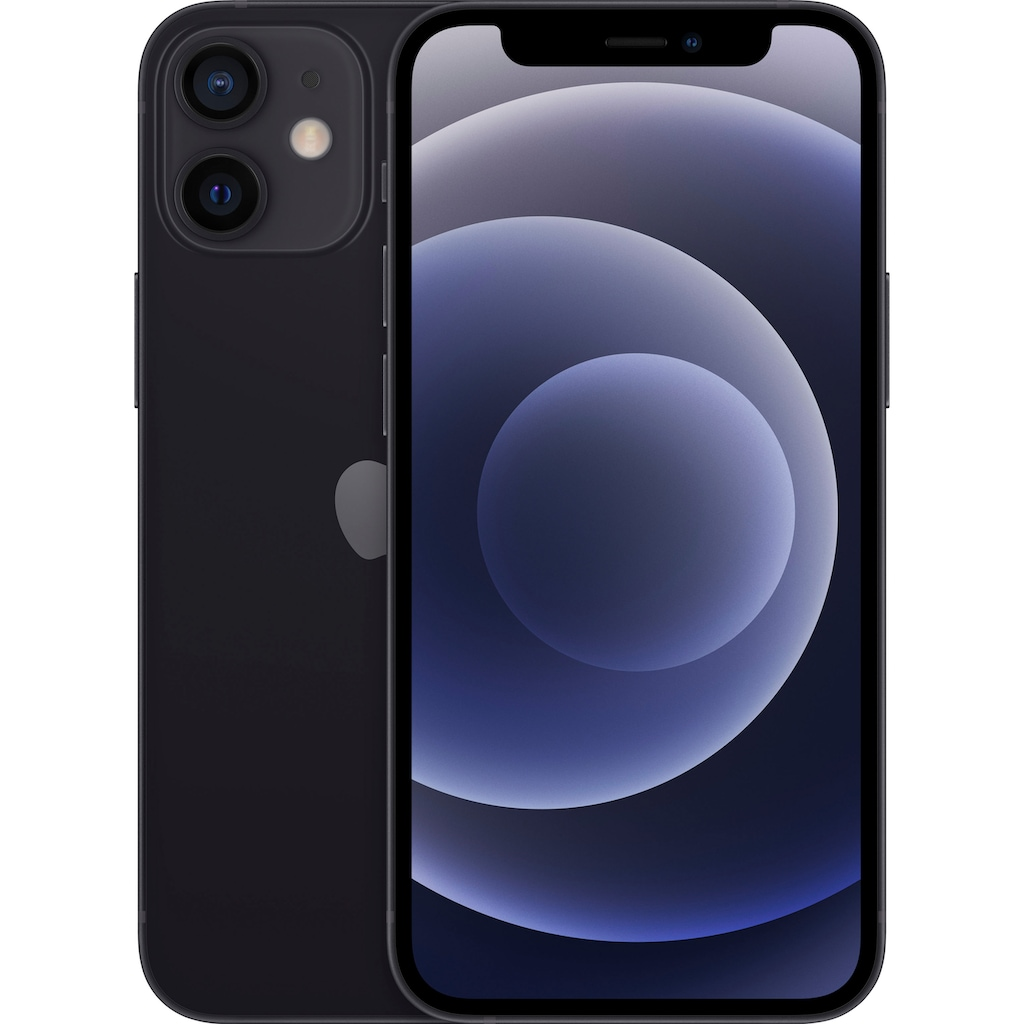 """Apple Smartphone »iPhone 12 Mini - 128GB«, (13,7 cm/5,4 """" 128 GB Speicherplatz, 12 MP Kamera), ohne Strom Adapter und Kopfhörer, kompatibel mit AirPods, AirPods Pro, Earpods Kopfhörer"""