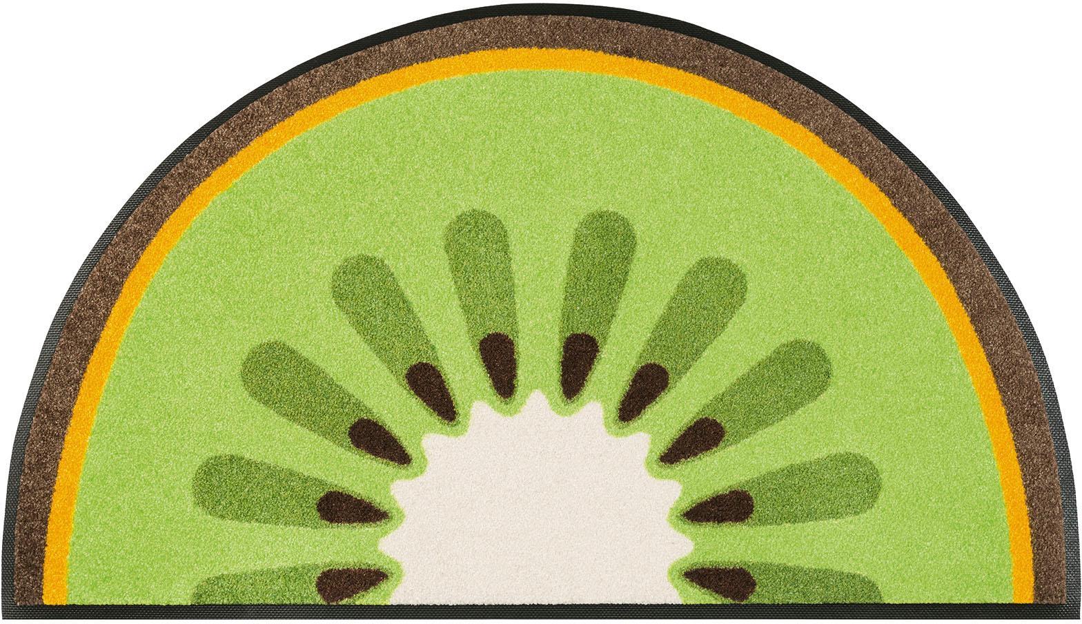 Fußmatte Kiwi wash+dry by Kleen-Tex rechteckig Höhe 7 mm gedruckt