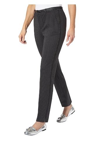 Ambria Jersey - Hose mit streckenden, einfarbig abgesetzten Galonstreifen kaufen