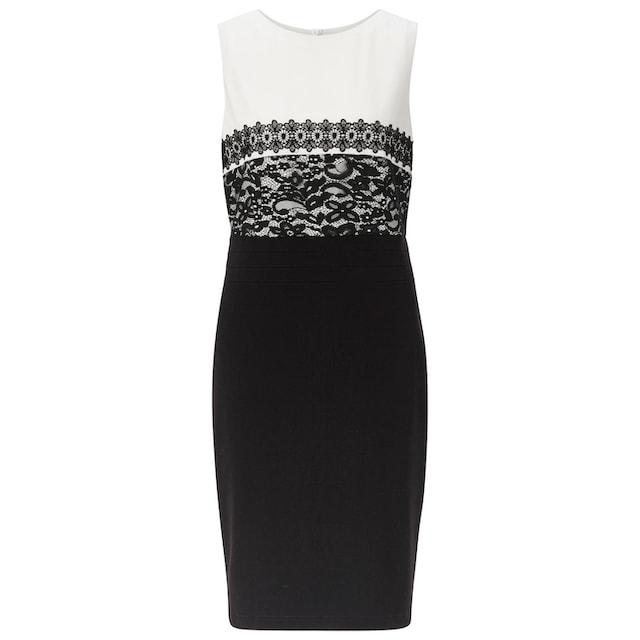 Lady Kleid in klassischer Etui-Form