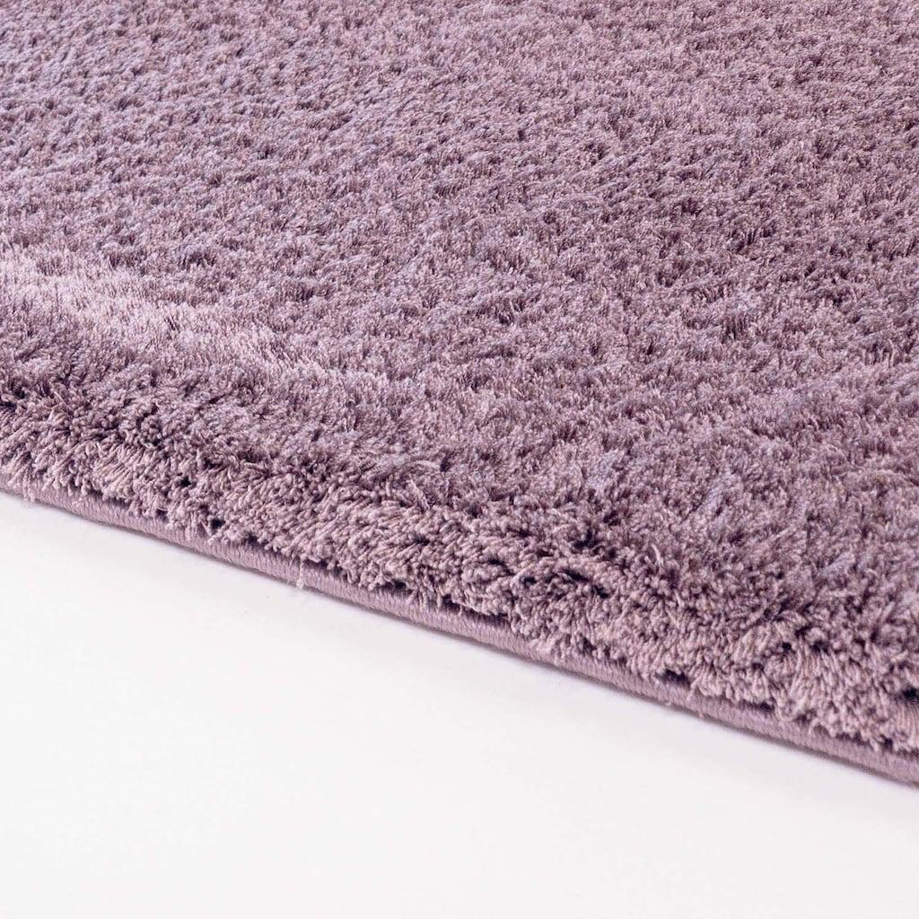 Carpet City Hochflor-Teppich »Softshine 2236«, rechteckig, 30 mm Höhe, besonders weich durch Microfaser, Wohnzimmer