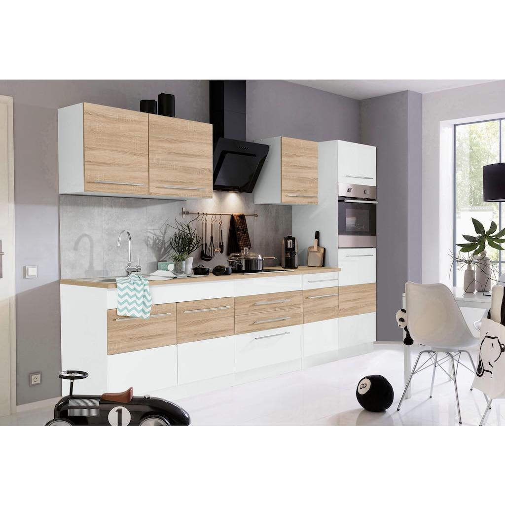 HELD MÖBEL Küchenzeile »Trient«, ohne E-Geräte, Breite 290 cm
