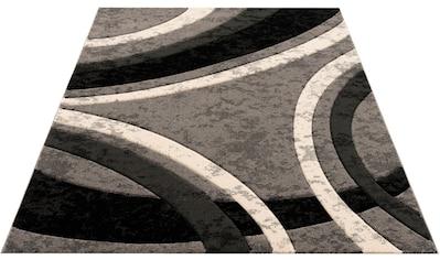 Home affaire Teppich »Jelva«, rechteckig, 18 mm Höhe, mir handgearbeiteten... kaufen