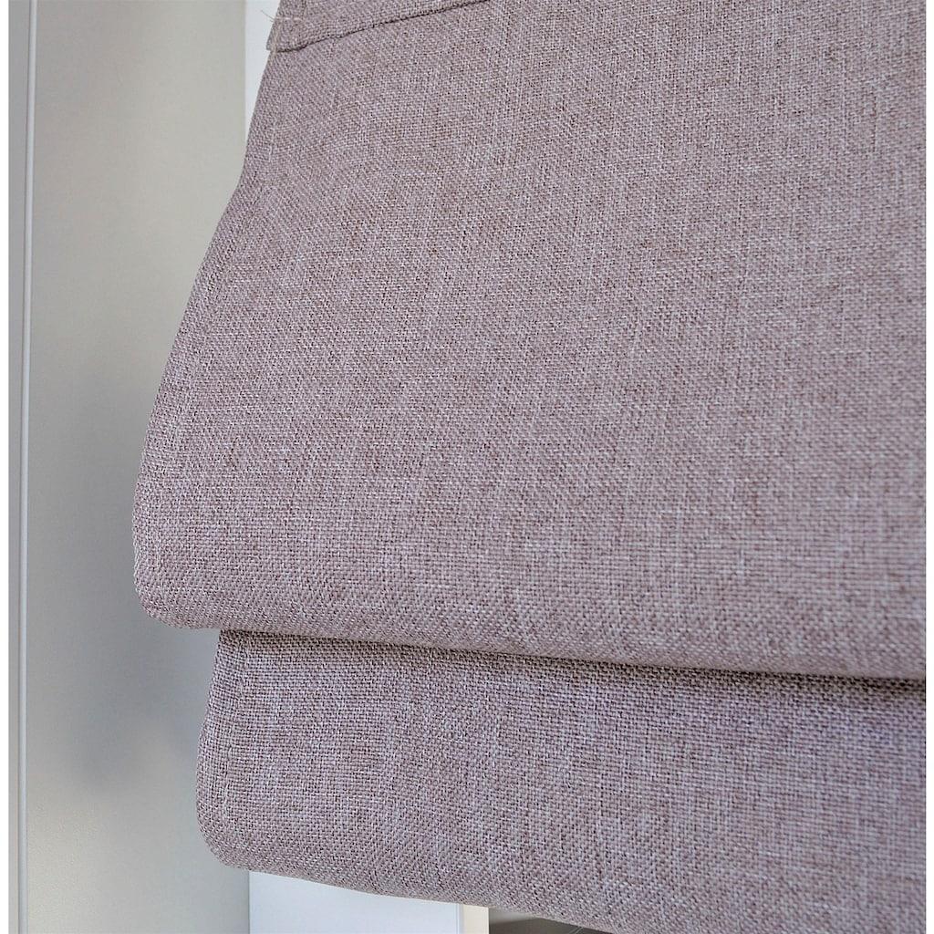 Kutti Raffrollo »Dimout«, mit Hakenaufhängung, ohne Bohren, freihängend, mit Ösen, inkl. Fensterhaken