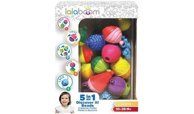 Spielbausteine »lalaboom - Entdecker-Perlen«, (30 St.) kaufen