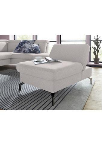 sit&more Hocker, Fußhöhe 12 cm, mit Federkern und Klappfunktion kaufen