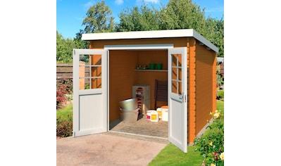 NORDIC HOLZ Gartenhaus »Indi 175«, BxT: 250x213 cm kaufen