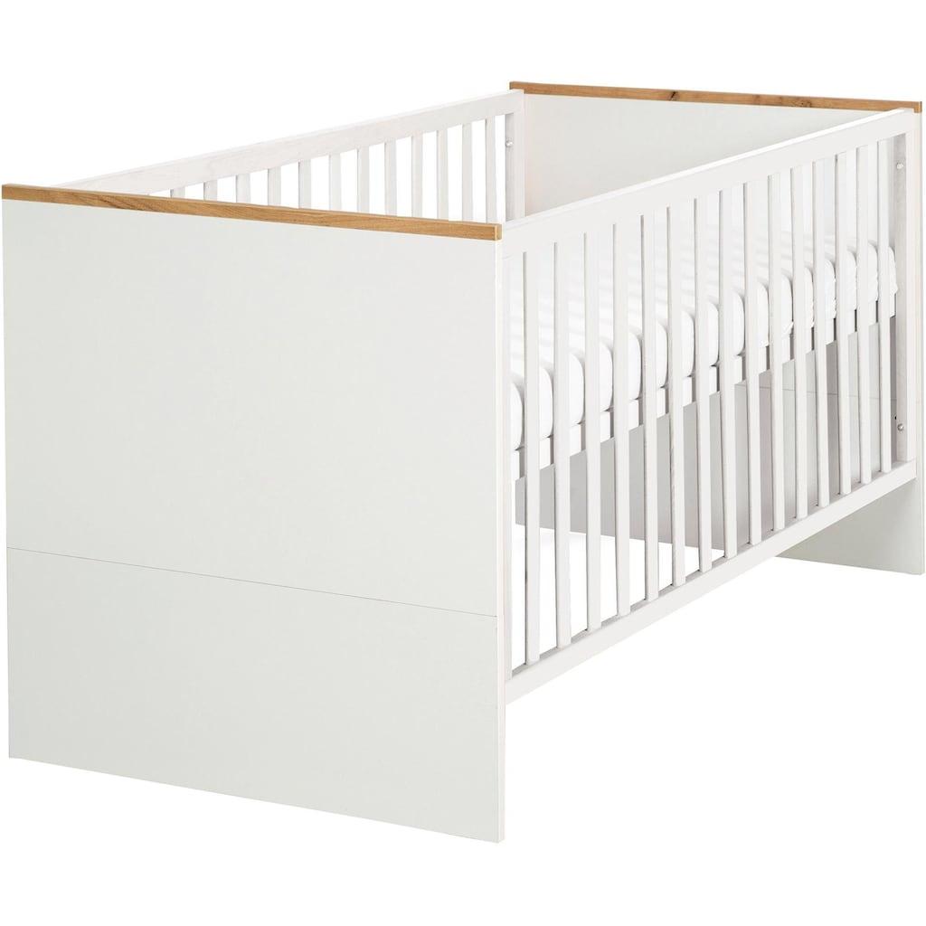 roba® Babyzimmer-Komplettset »Finn«, (Set, 3 St.), mit Kinderbett, Schrank und Wickelkommode