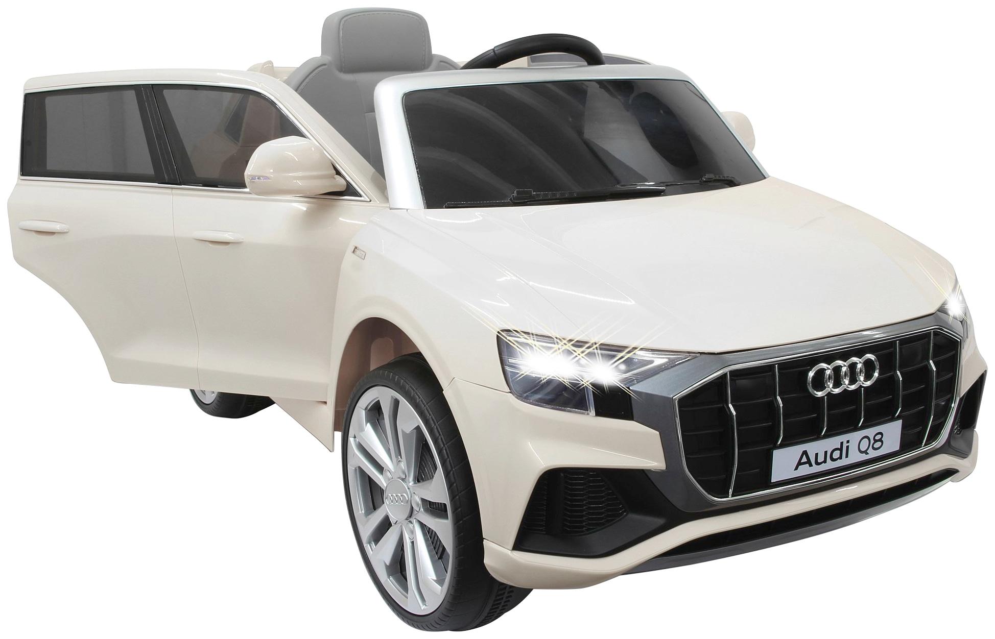 Jamara Elektro-Kinderauto Ride-on Audi Q8 weiß Kinder Elektrofahrzeuge Kinderfahrzeuge