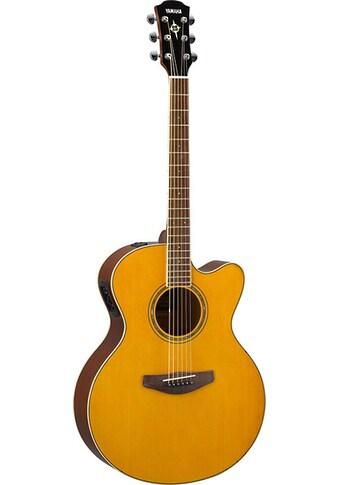 Yamaha Akustikgitarre »E-Akustikgitarre CPX600VT, Vintage Tint« kaufen
