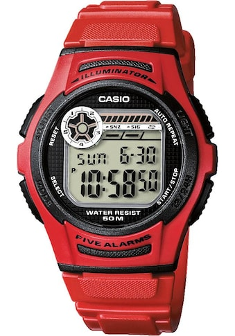 Casio Collection Multifunktionsuhr »W-213-4AVES« kaufen