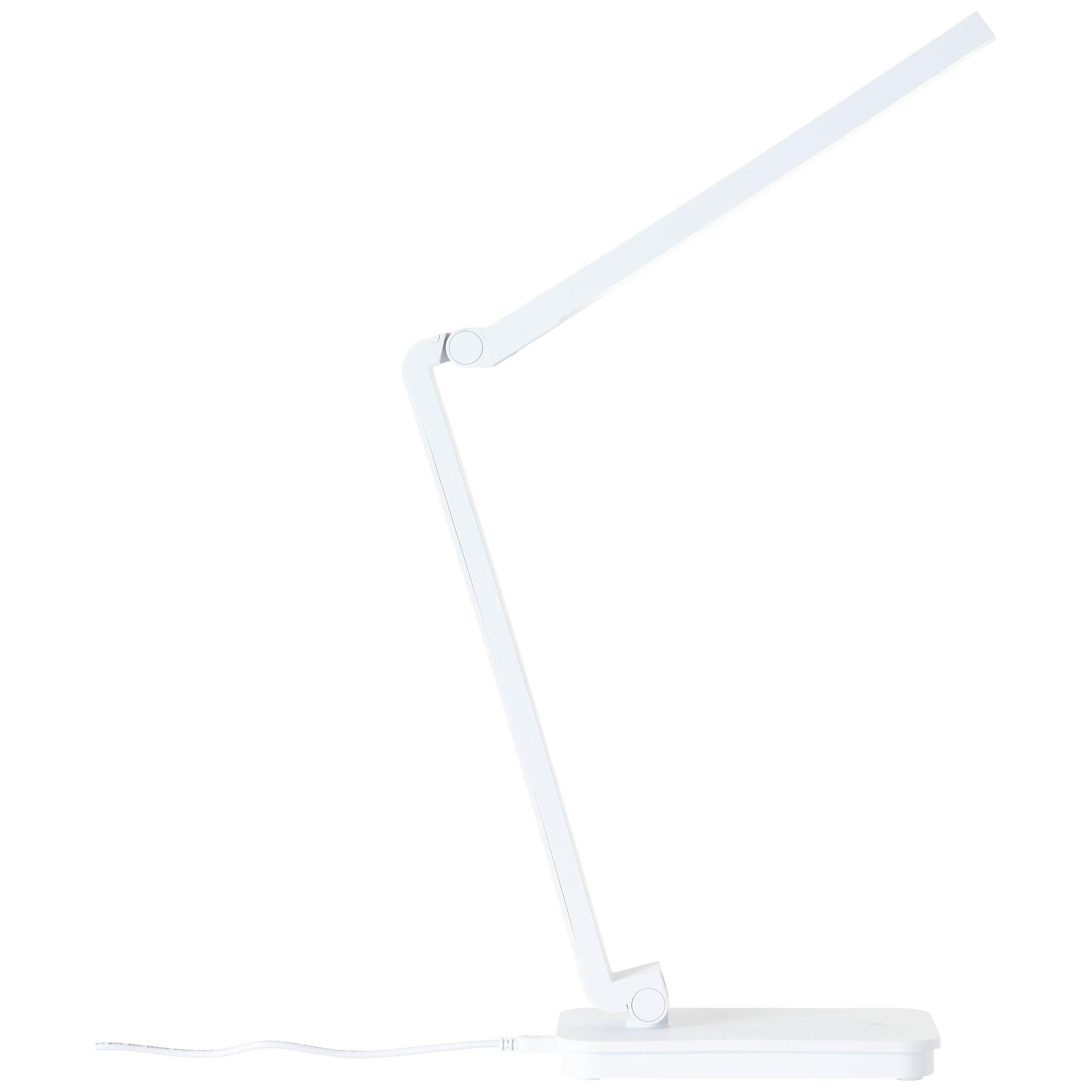 Brilliant Leuchten Tori LED Tischleuchte weiß