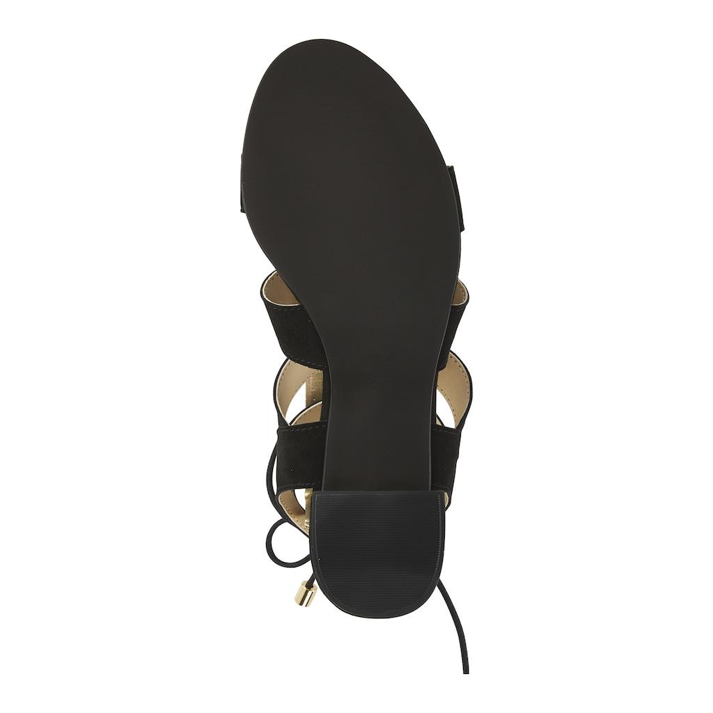 Sandalette mit trendiger Schnürung