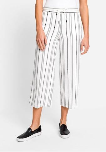 Olsen Stoffhose, mit Streifen kaufen