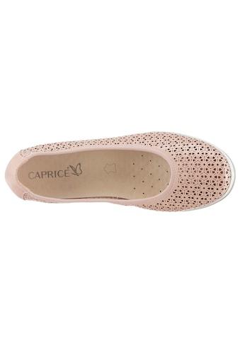 Caprice Ballerina mit Leder - Wechselfußbett kaufen