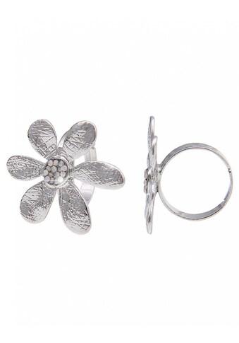 leslii Fingerring, mit glänzender Blüte kaufen