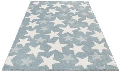 Lüttenhütt Kinderteppich »Stars«, rechteckig, 13 mm Höhe, Pastell-Farben, Motiv Sterne kaufen