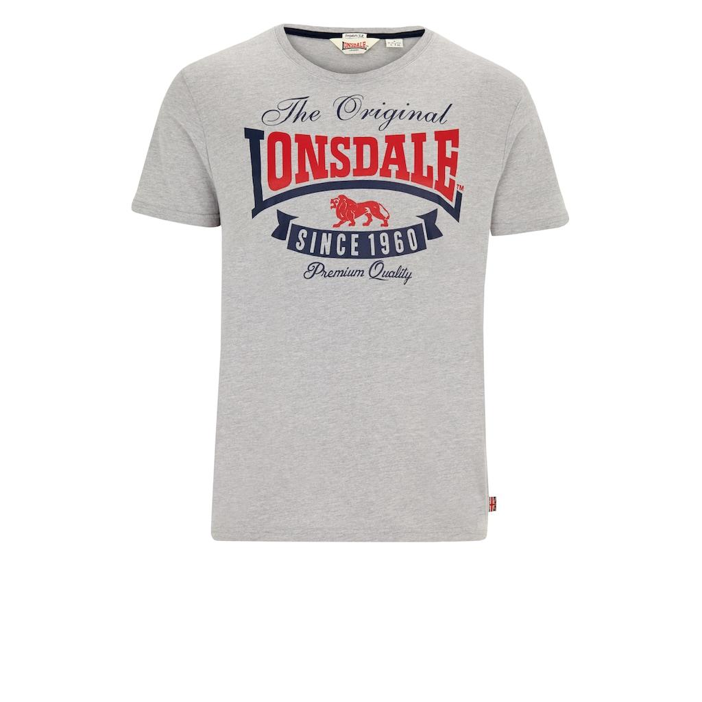 Lonsdale T-Shirt mit modischem Print