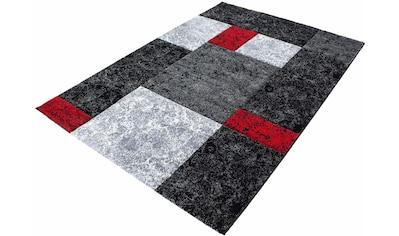 Ayyildiz Teppich »Hawaii 1330«, rechteckig, 13 mm Höhe, handgearbeiteter Konturenschnitt, Wohnzimmer kaufen