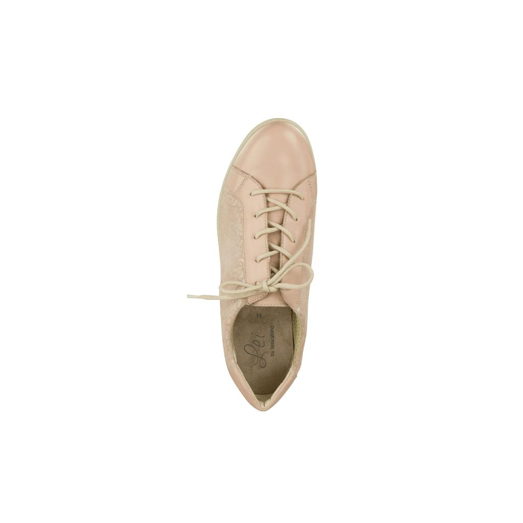 Lei by tessamino Schnürschuh »Elena«, mit wechselbarem Fußbett
