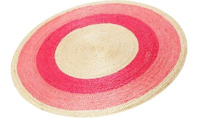 Teppich, »Beach House«, Esprit, rund, Höhe 8 mm, handgewebt kaufen