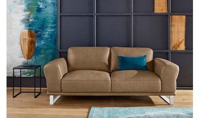 W.SCHILLIG 2-Sitzer »montanaa«, mit Metallkufen in Chrom glänzend, Breite 192 cm kaufen