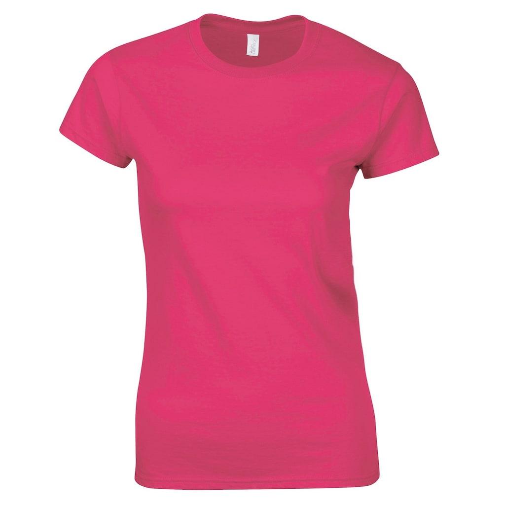 Gildan T-Shirt »Damen Soft Style Kurzarm«