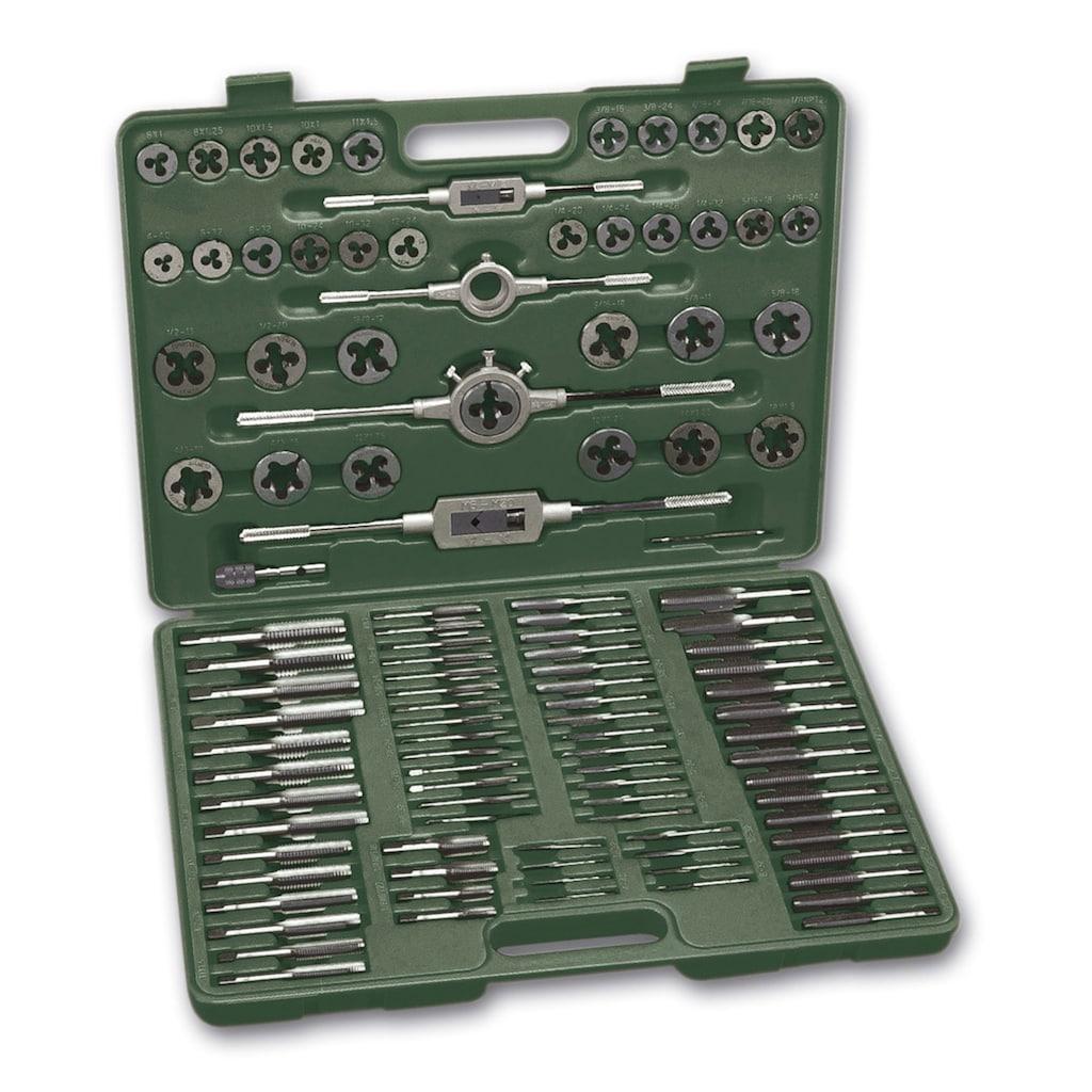 Brüder Mannesmann Werkzeuge Gewindeschneider »(110-tlg.)«