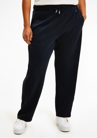 Tommy Hilfiger Curve Jogger Pants »CRV RELAXED PULL ON ANKLE PANT«, mit Tommy Hilfiger... kaufen