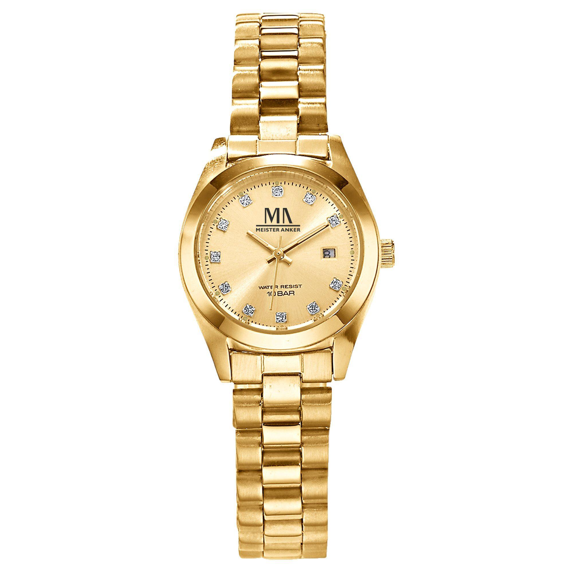 Meister Anker Armbanduhr »Edelstahl«