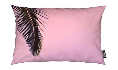 Juniqe Dekokissen »Tropicana Pink by @BineArnold«, Weiches, allergikerfreundliches Material kaufen