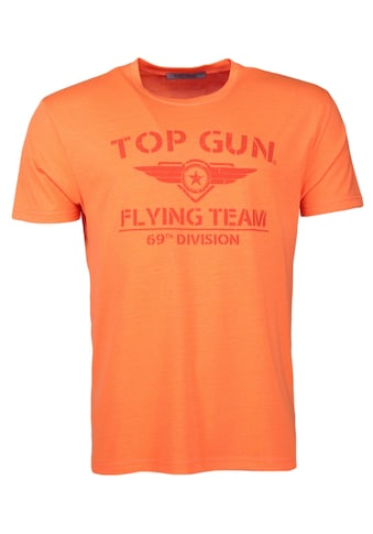 TOP GUN T-Shirt »Shining«, sportlicher Schnitt kaufen
