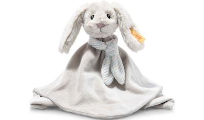 Steiff Schmusetuch »Soft Cuddly Friends Hoppie Hase«, mit Fingerpuppenfunktion kaufen