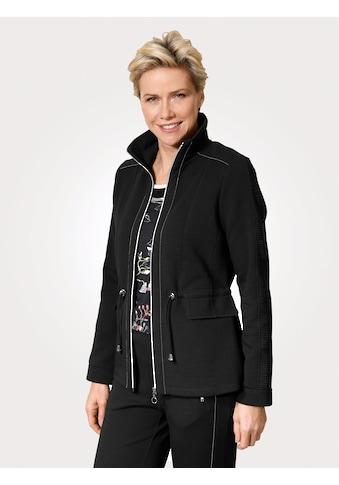 Mona Shirtjacke, mit silbernen Details kaufen