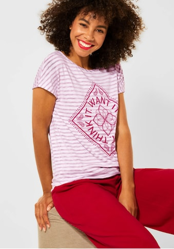 STREET ONE T-Shirt, mit coolem Druck kaufen