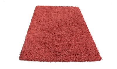 morgenland Wollteppich »Shaggy Teppich handgewebt rot«, rechteckig, 40 mm Höhe kaufen