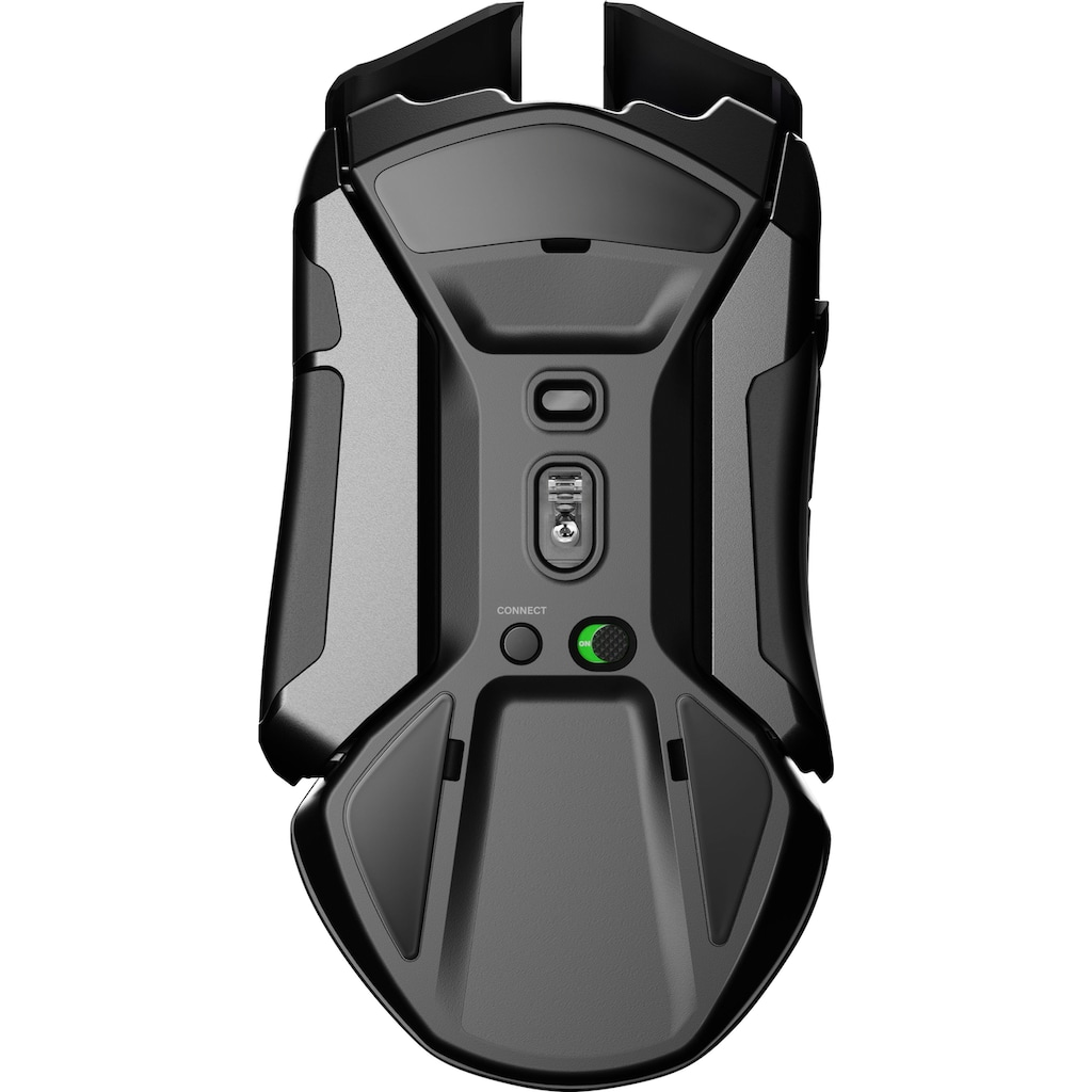 SteelSeries Gaming-Maus »Bundle Rival 650 Wireless + QcK Large Cyberpunk Edition«, USB