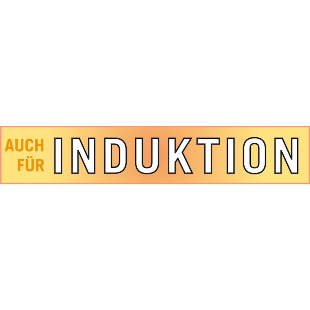 GSW Topf-Set »Magic Color«, Edelstahl 18/8, (Set, 12 tlg.), Induktion
