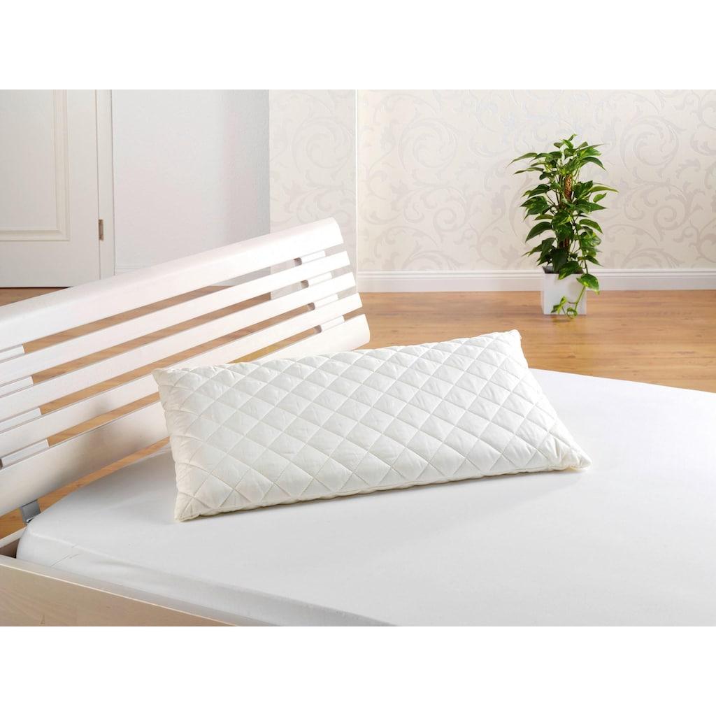 f.a.n. Schlafkomfort Dinkelkörnerkissen »Dinkelkissen«, (1 St.), robustes Kissen mit naturgesunder Füllung