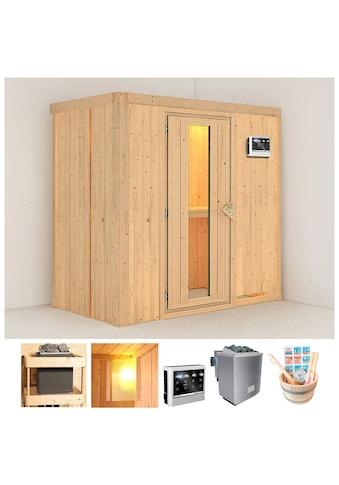 KONIFERA Sauna »Willa«, 196x118x198 cm, 9 kW Bio - Ofen mit ext. Strg., Energiespartür kaufen