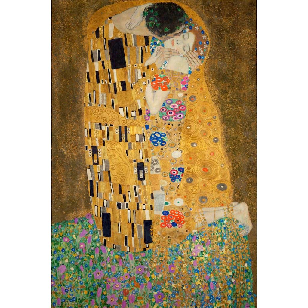 Reinders! Holzbild »Deco Panel 60x90 Gustav Klimt - the kiss«