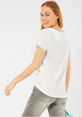 Cecil T-Shirt, mit Stickerei kaufen