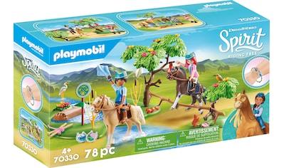 Playmobil® Konstruktions-Spielset »Herausforderung am Fluss (70330), Spirit Riding Free«, ; Made in Germany kaufen
