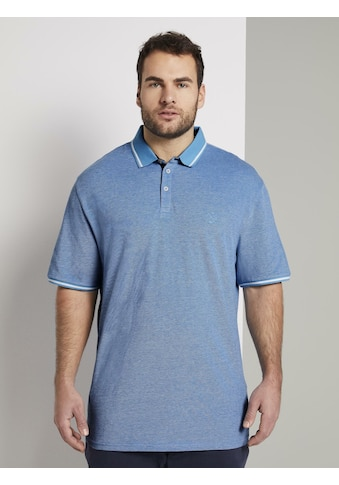 TOM TAILOR Men Plus Poloshirt »Sommerliches Poloshirt mit kleiner Stickerei« kaufen