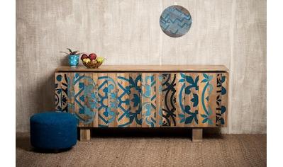 Home affaire Sideboard »Layer«, mit 4 sehr schöne dekorative Türen, Breite 177 cm kaufen