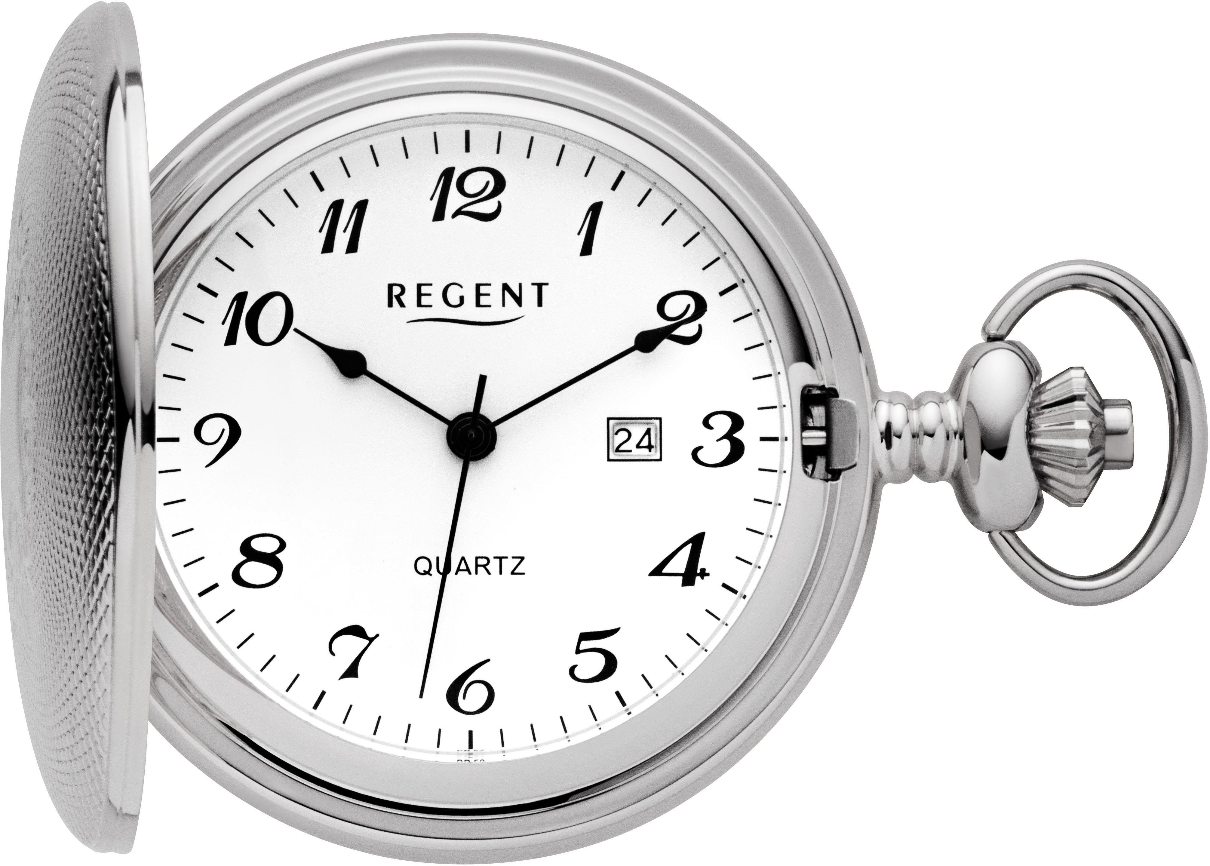 Regent Taschenuhr PR007 (Set 2 tlg inkl Kette) | Uhren > Taschenuhren | Regent