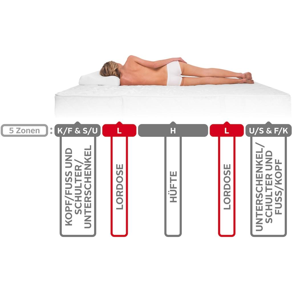 DI QUATTRO Komfortschaummatratze »Airy Form Luxus«, (1 St.), Die Matratze, die atmet. Extra hoch und komfortabel, Schnäppchenpreis