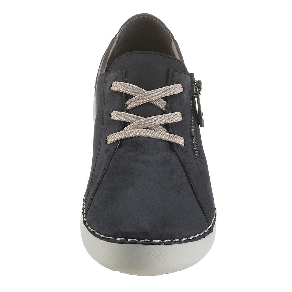 Rieker Sneaker, mit weißer Laufsohle